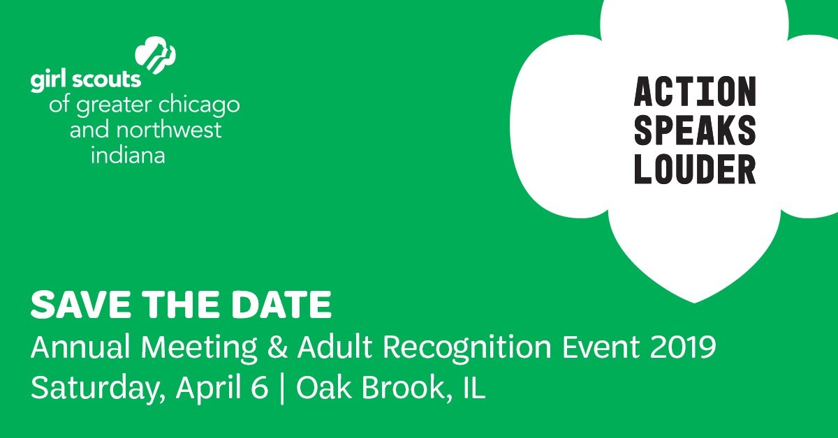 Save the Date: Annual Meeting and Adult Recognition 2019