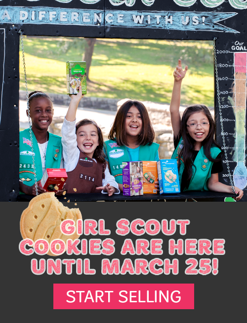 Volunteer Now! Unleash Strong! Be a Girl Scout.