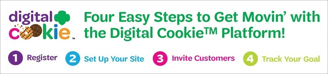 4 Easy Steps to Get Movin' with the Digital Cookie® Platform!