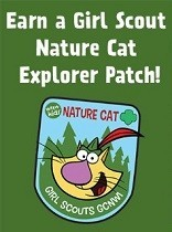 Nature Cat Patch