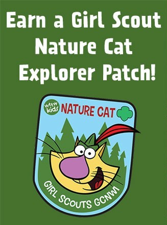 Earn a Girl Scout Nature Cat Explorer Patch!