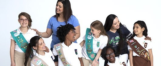 Volunteer with Girl Scouts!
